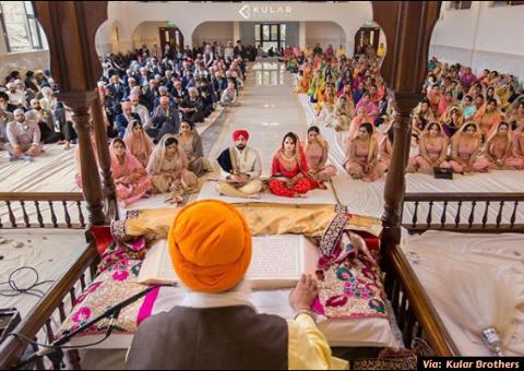 Sikh Wedding At Home