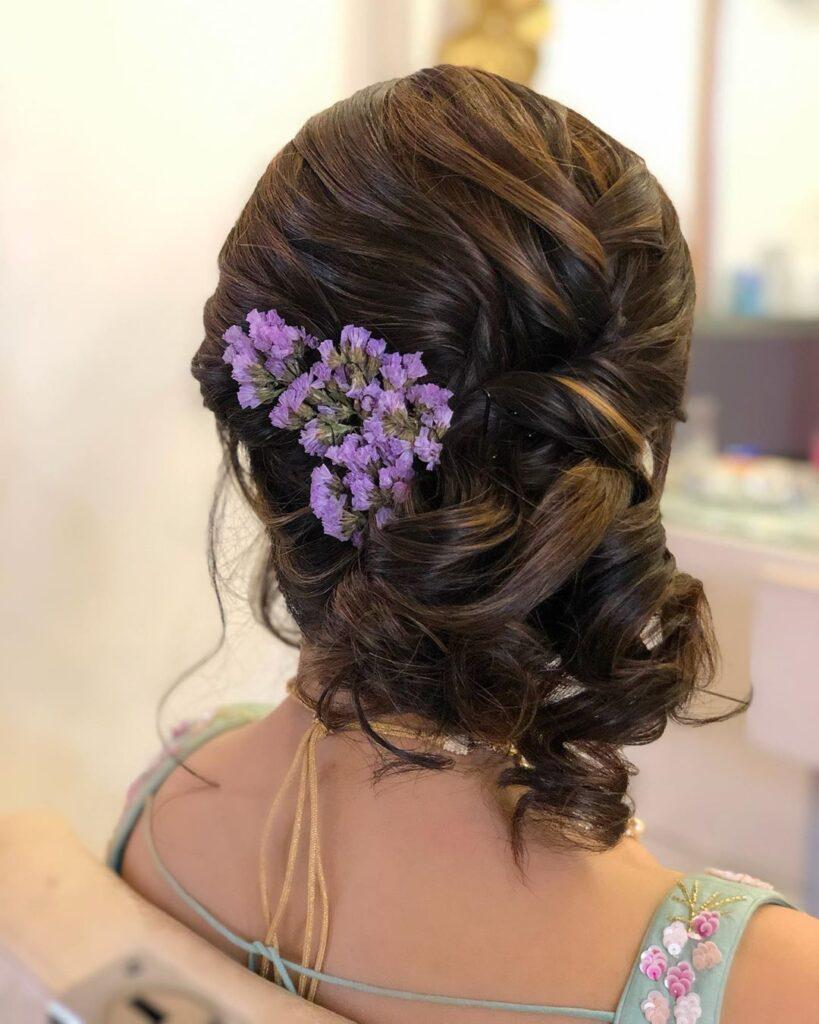 Indian Bridal Bun hairstyle