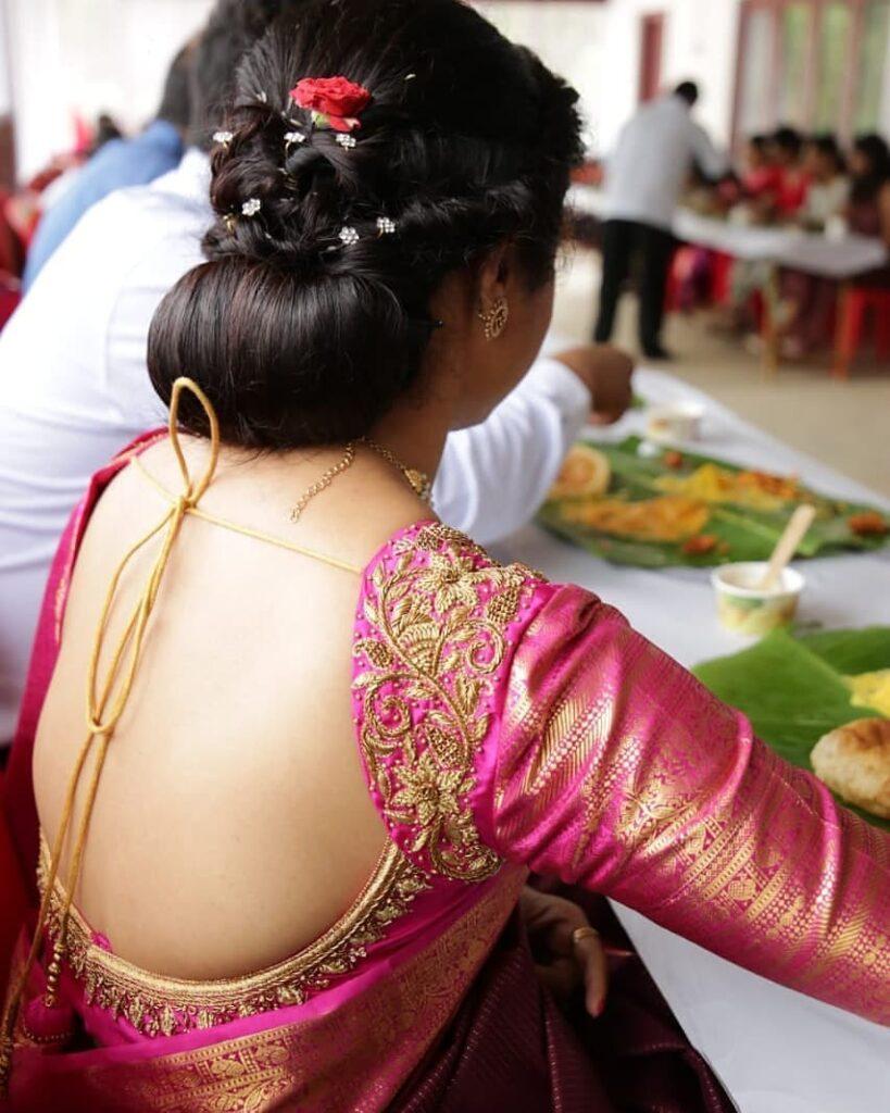 Mallu Bridal Hairstyle