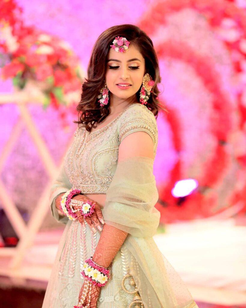 Bridal Hairstyle short Hair