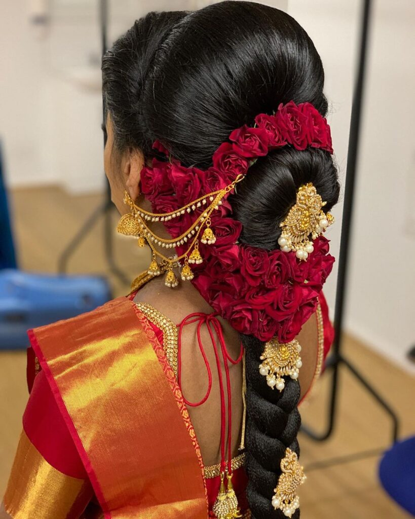 South Indian Braid Hairstyle