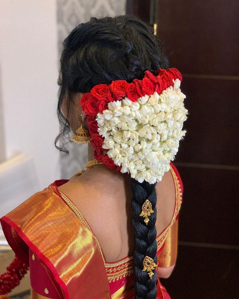 Braid Hairstyle Tamil