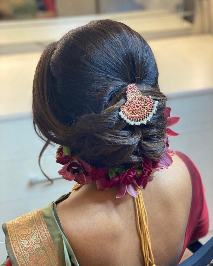 Bun Hairstyle Brides