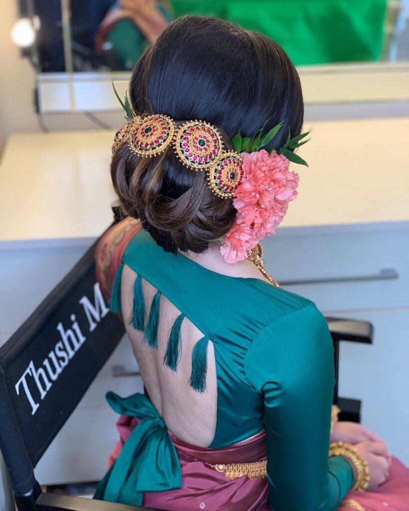Kerala Bride Hairstyle