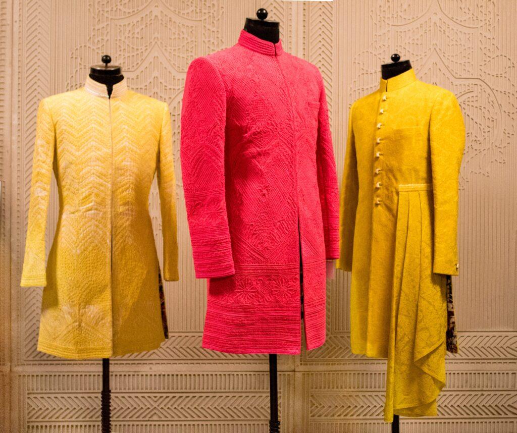 Yellow Kurta Men