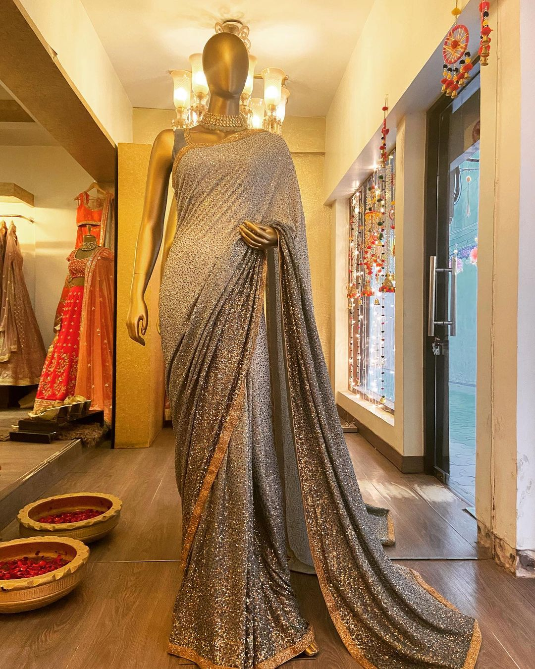 Bhumika Grover Sequin Saree