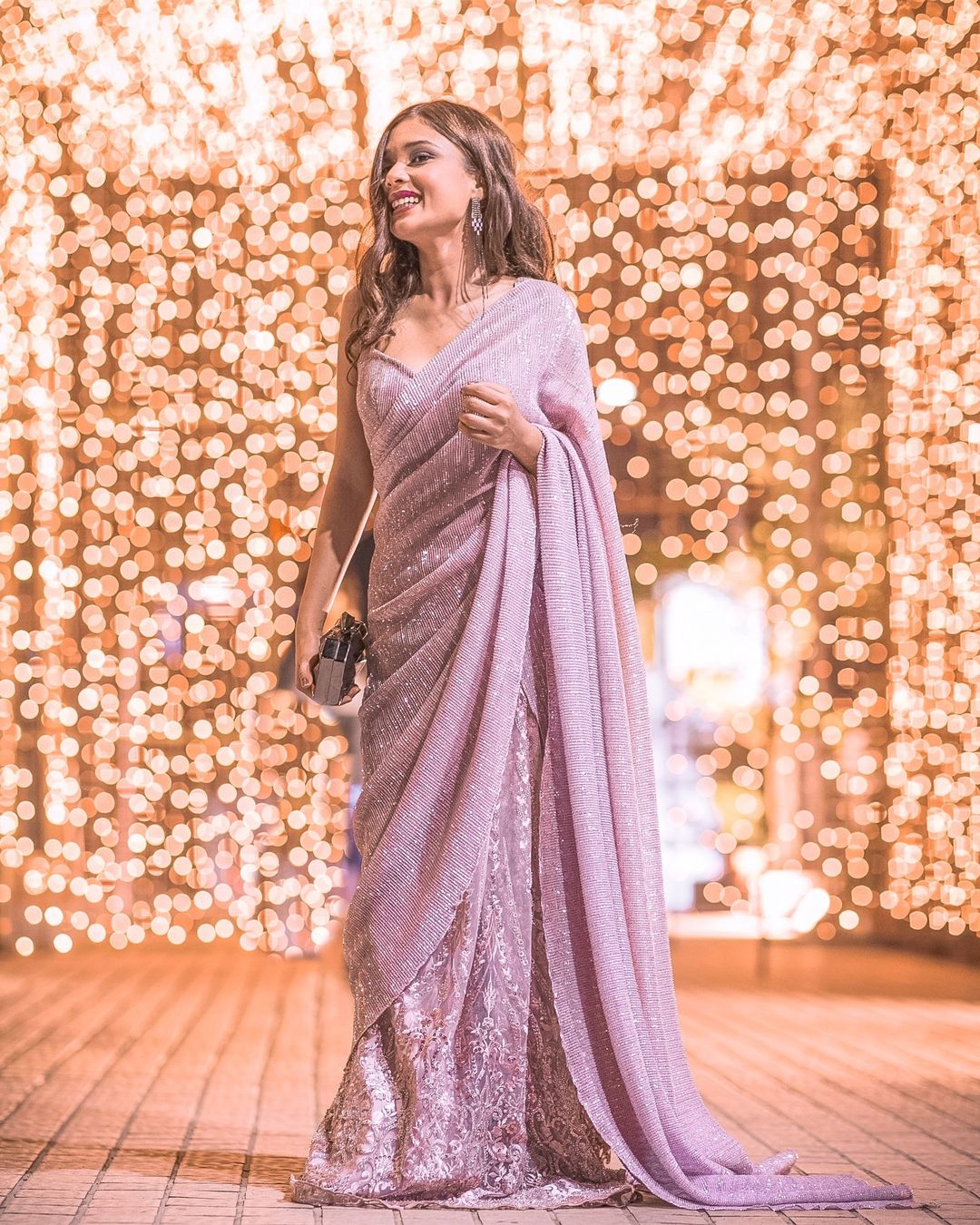 Kalki Fashions Sequin Saree