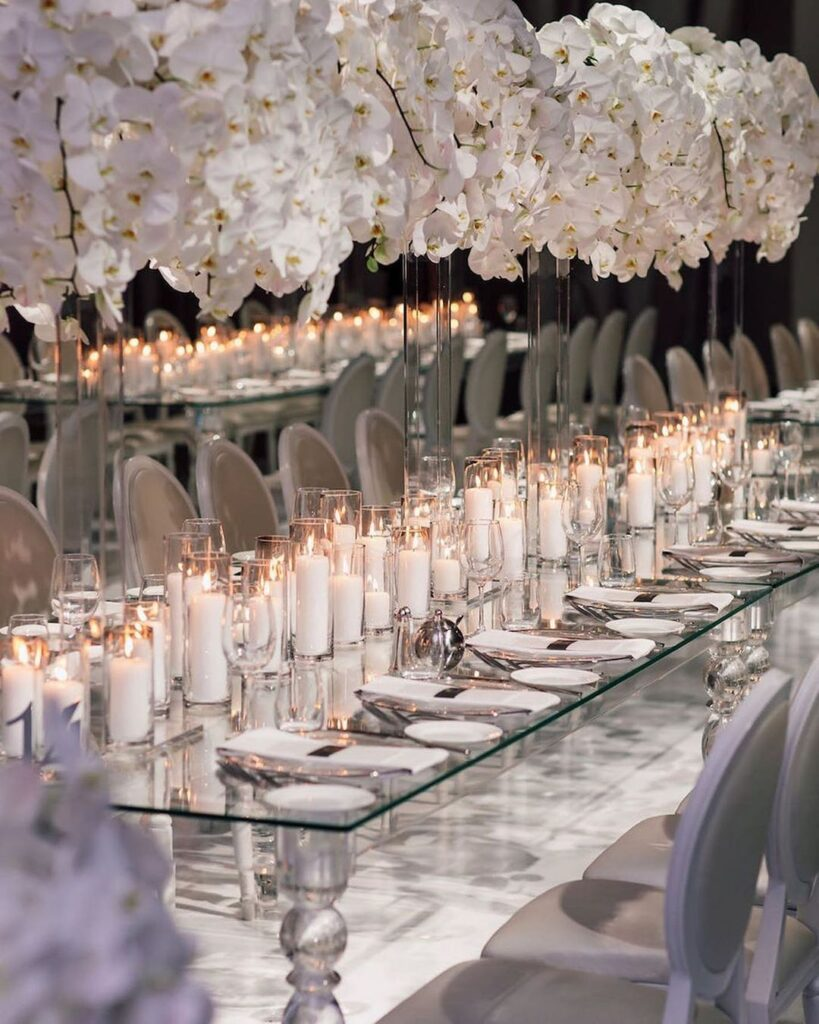 Gray Wedding Decor