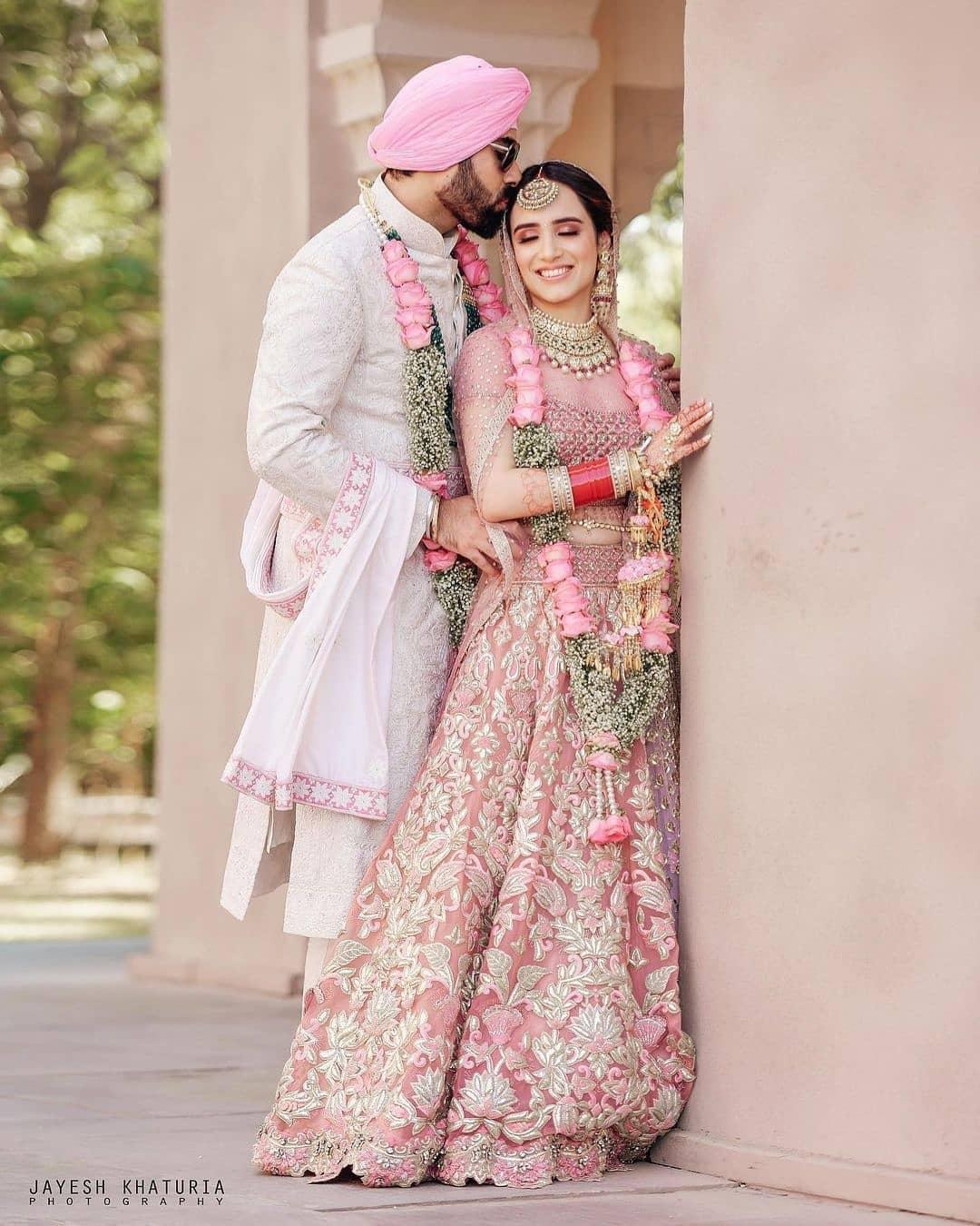 Pink Tarun Tahiliani Lehenga