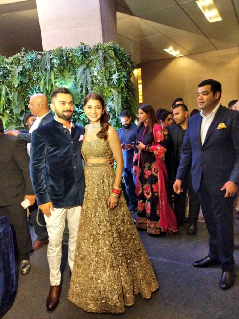 Virat Anushka Mumbai Reception