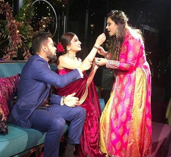 Virat Anushka Sangeet Ceremony
