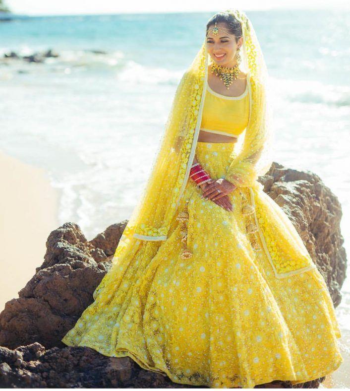 Yellow Lehenga Bride