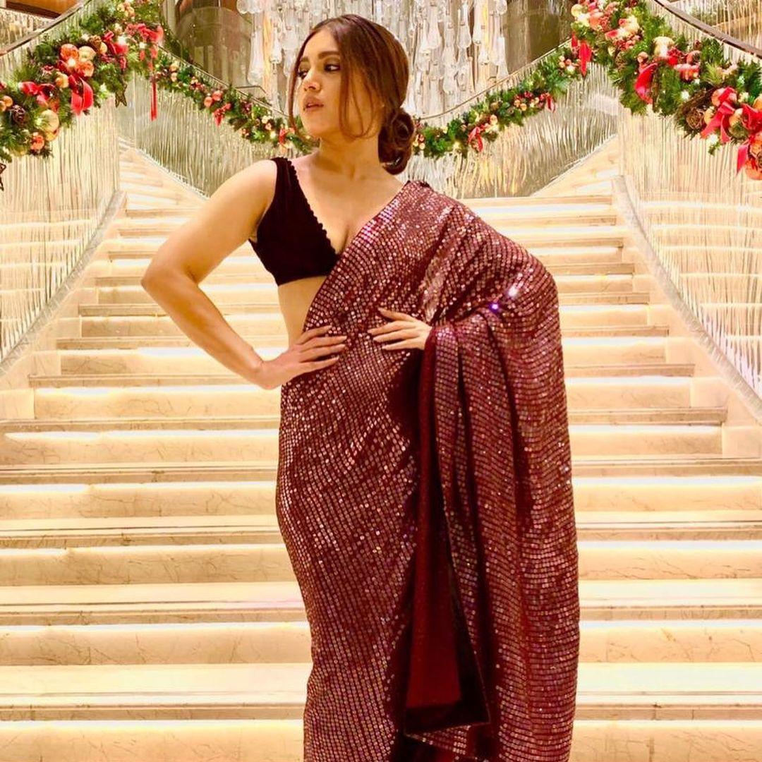 Manish Malhotra Sequin Saree
