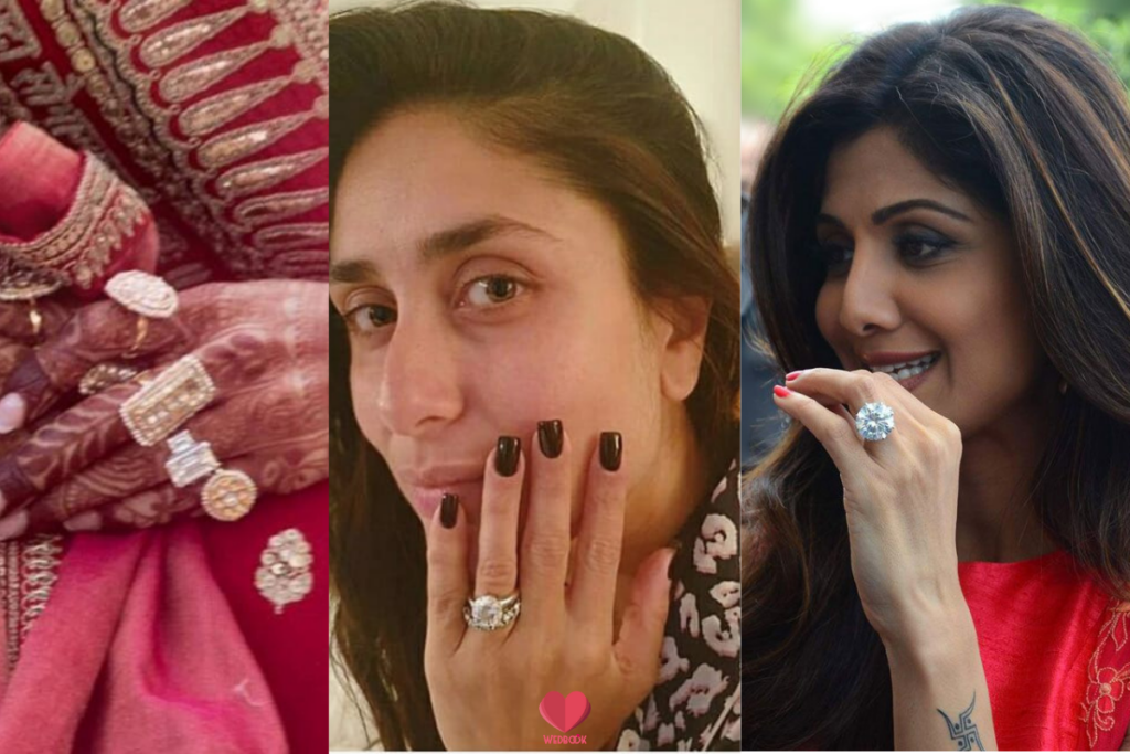 engagement rings of bollywood actresses