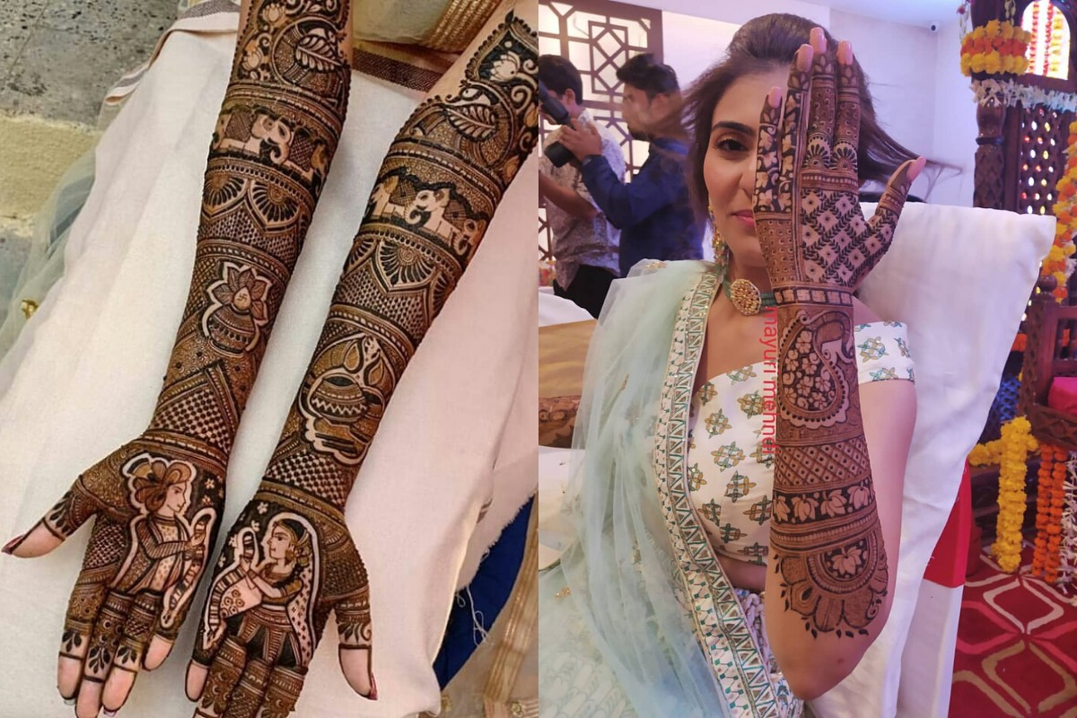 20+ Latest Bridal Mehndi Designs For Full Hands To Bookmark RN ...