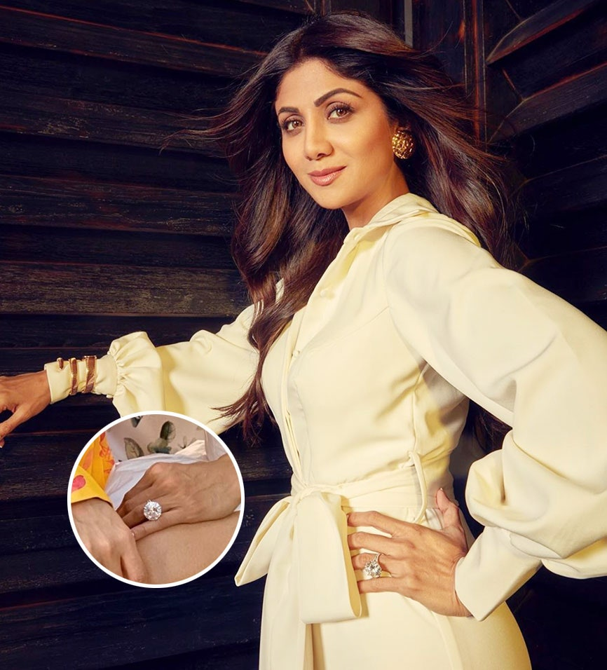 Shilpa Shetty Engagement Ring