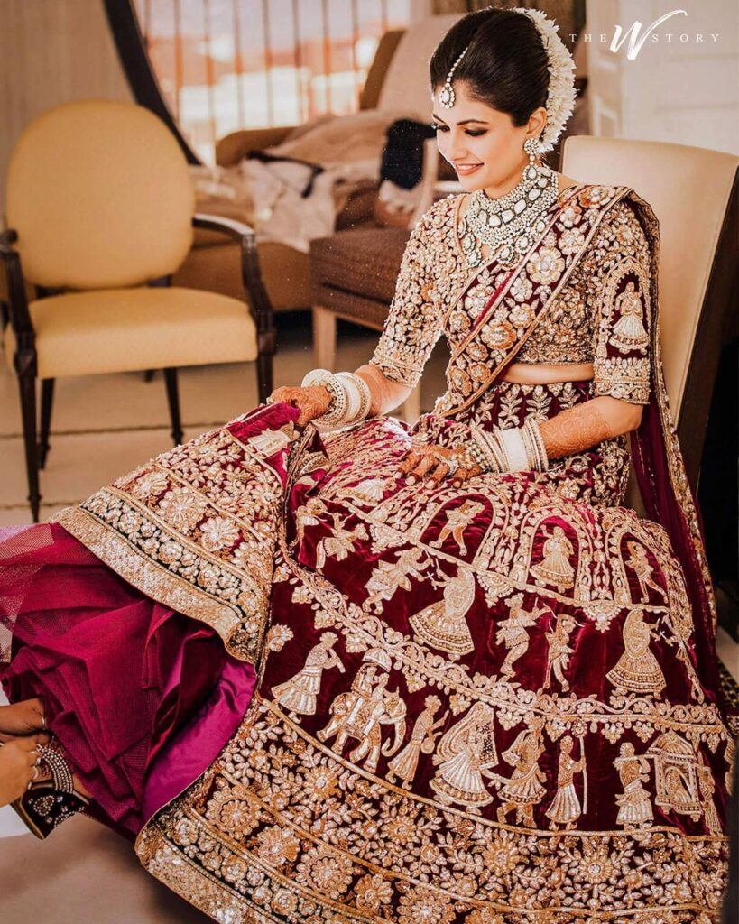 Manish Malhotra Lehenga for Bride