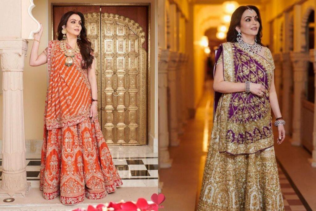 Gujarati Style Dupatta Drape