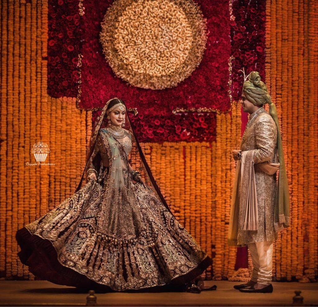 Manish Malhotra Bride Outfit