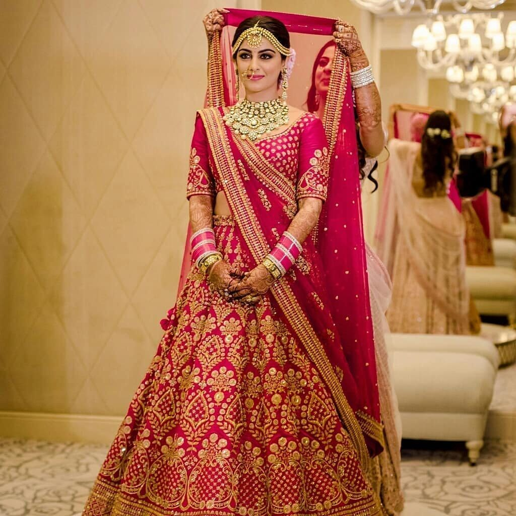 Bridal Dupatta Style Drape