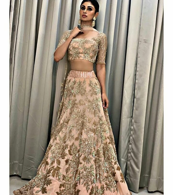 Manish Malhotra Outfit Design Mouni Roy