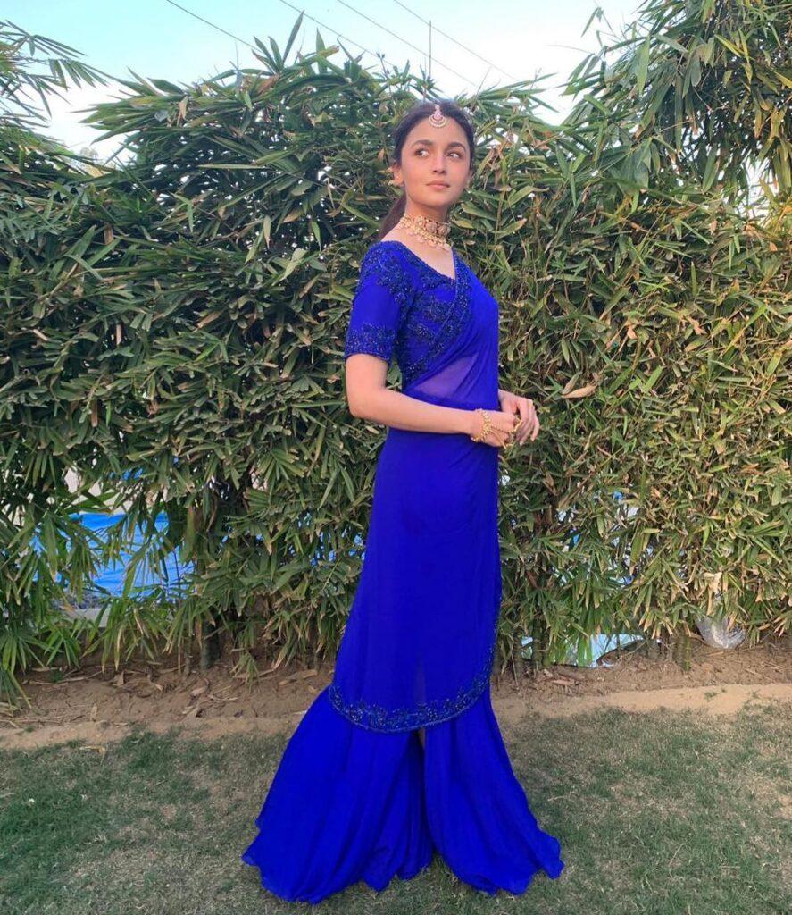 Manish Malhotra Saree Alia Bhatt