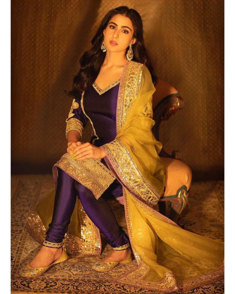 Manish Malhotra Kurta Set Sara Ali Khan