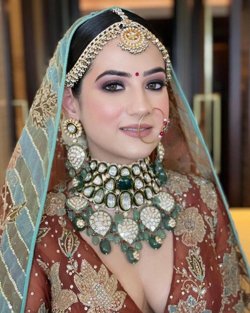 Isha Khanna Bridal Makeup Delhi