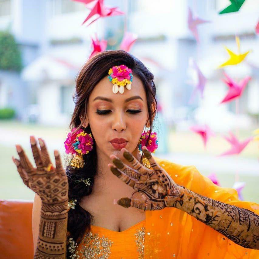 Simran Malik best makeup artist delhi