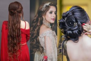 Sangeet Hairstyle