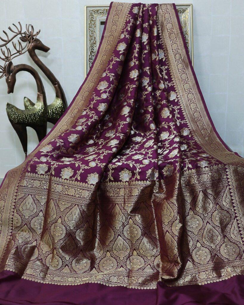 Katan Silk banarasi sari
