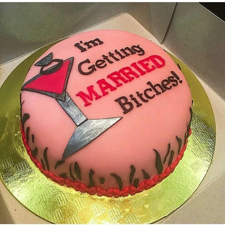 Bachelorette Naughty Cake