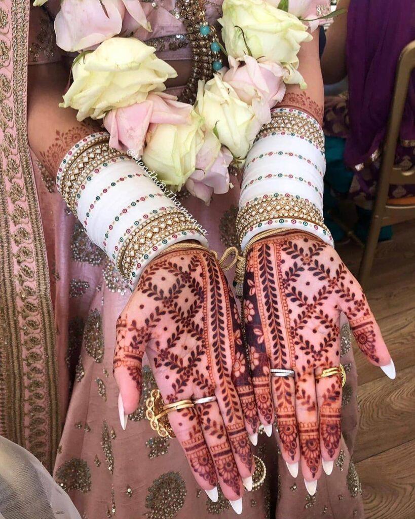 Front Hand Mehendi Design