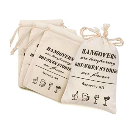 Bachelorette Hangover Kit Favor