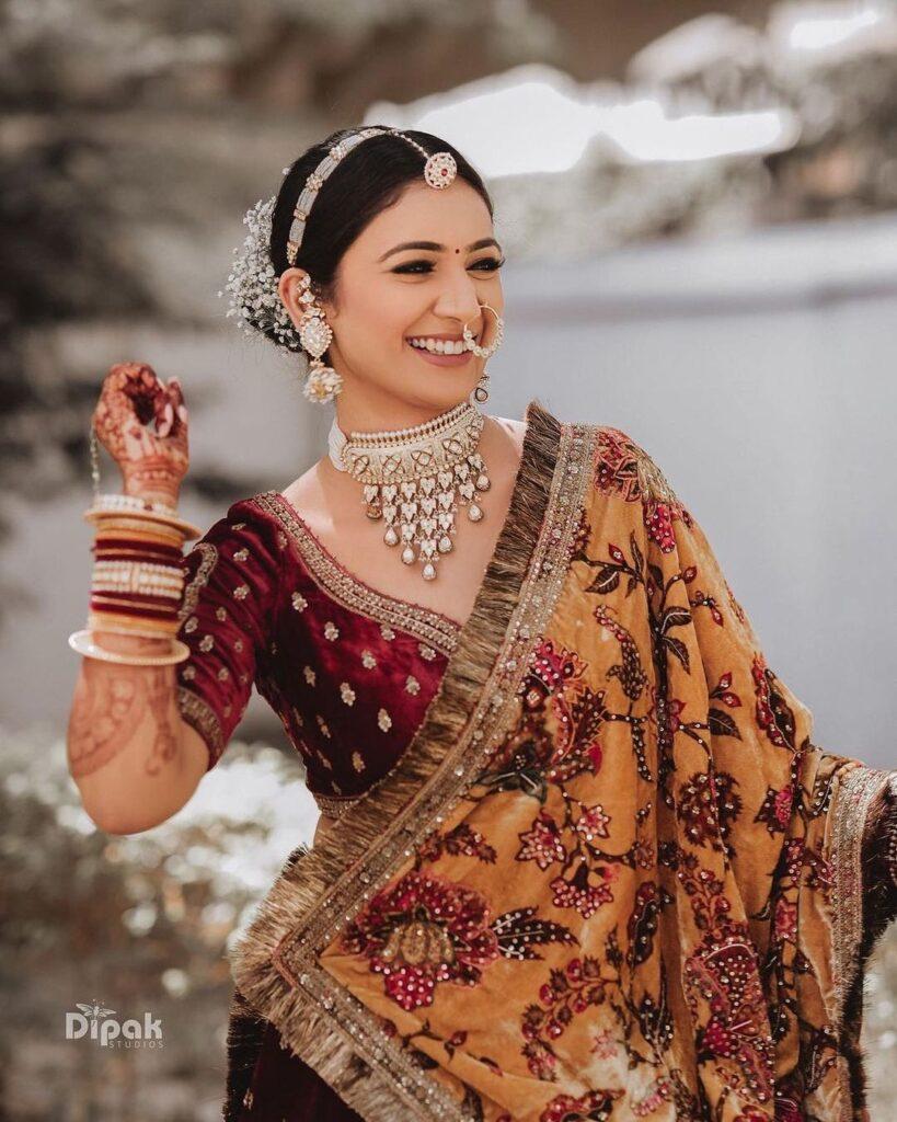 Rajasthani Borla Mathapatti