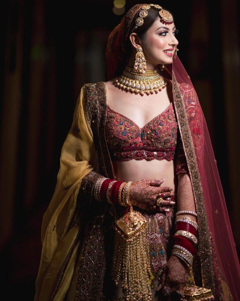 Bridal Sheeshpatti Design