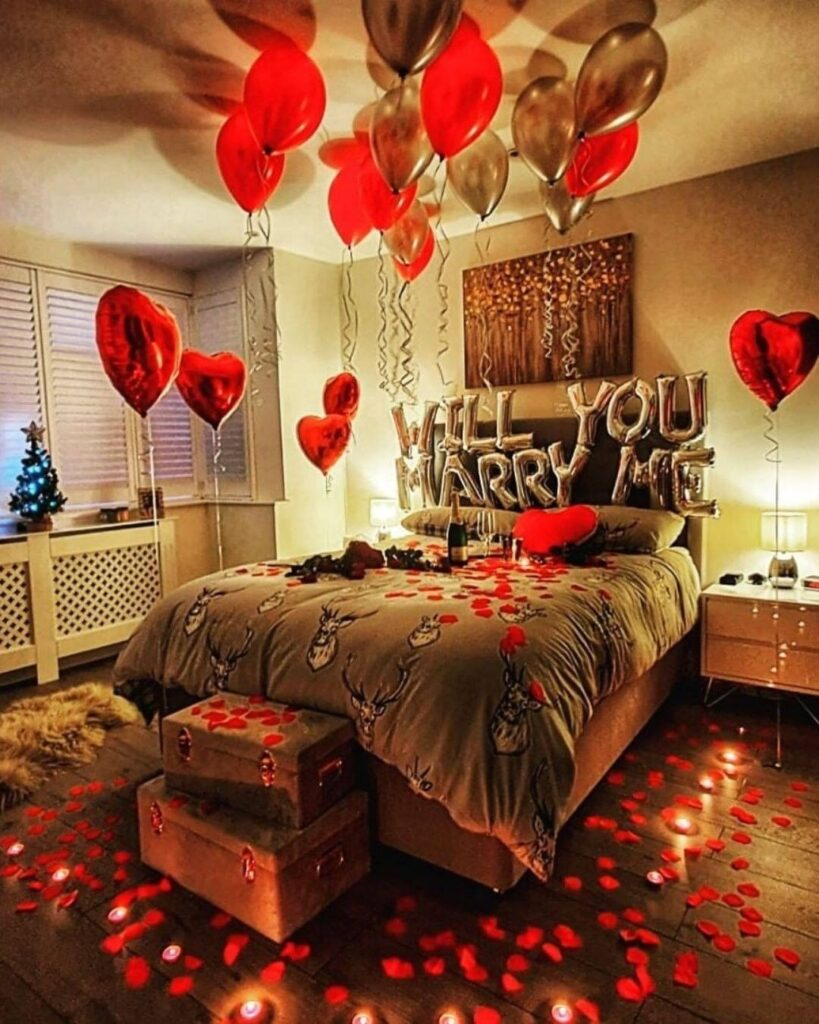 Bedroom Proposal Ideas