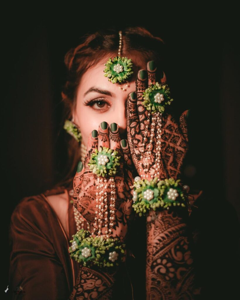 Floral Jewellery For Brides