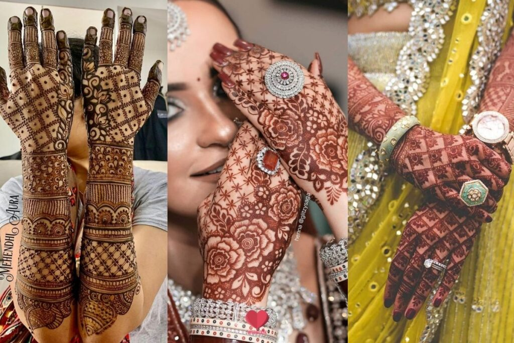 Jaal Mehndi Design