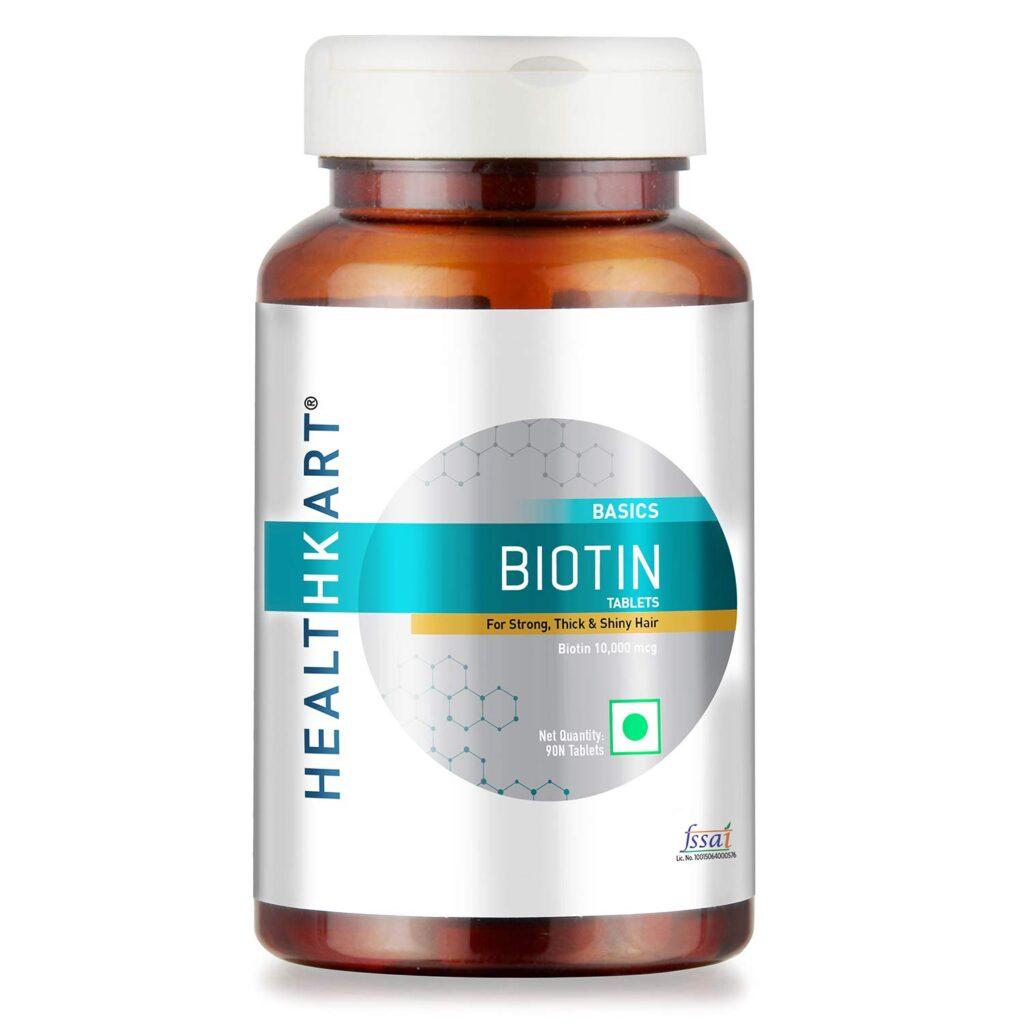 HealthKart Biotin Supplements Hair