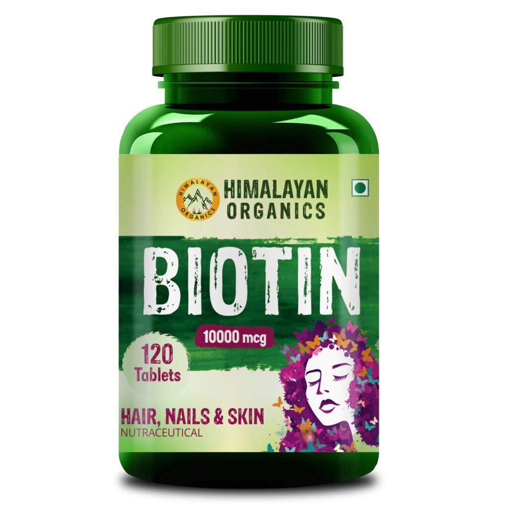 Himalayan Organic Biotin Tablets