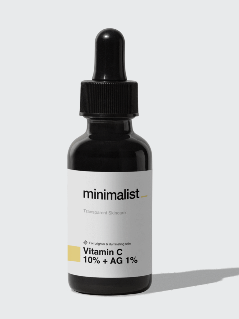 Minimalist Vitamin C serum review