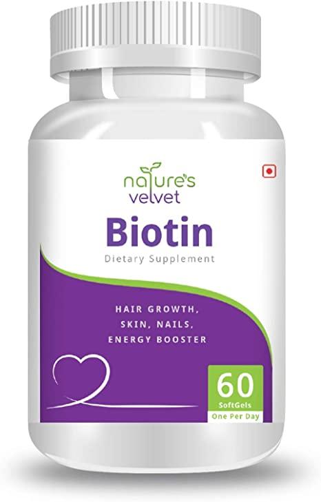Nature's Velvet Biotin Suppplements