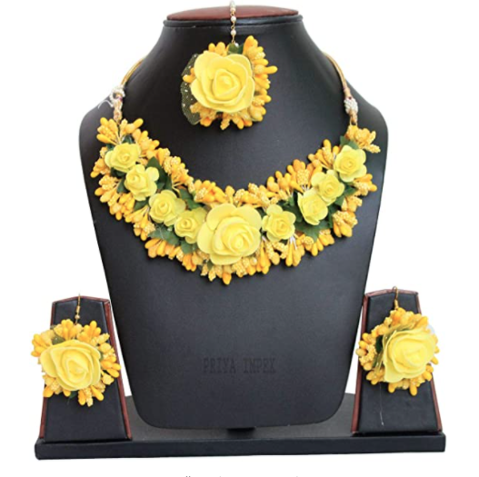 Floral Jewellery Amazon