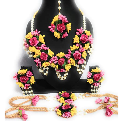 Floral Jewellery Set Amazon