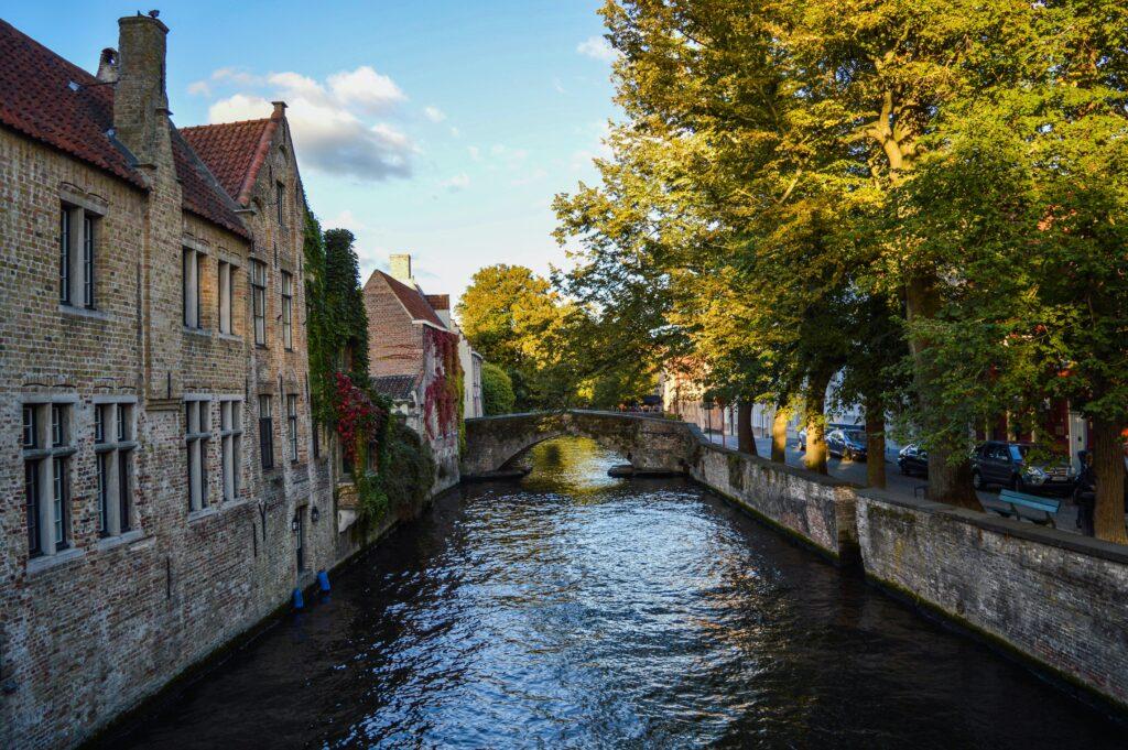 Bruges, Belgium Couple Travel