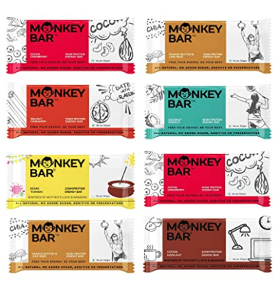 Monkey Protein Bars In India