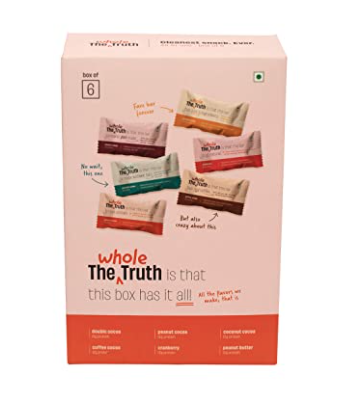 The Whole Truth Protein Bars