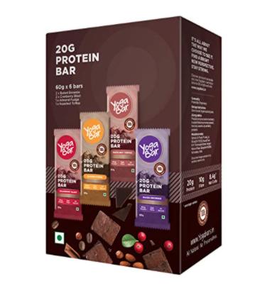 Yogabar Protein Bars