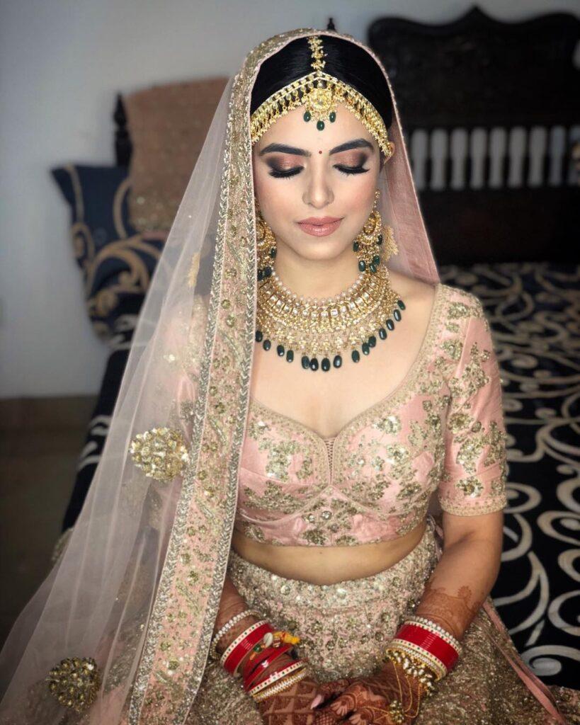 Pastel Bridal Makeup Indian